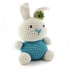 Hoooked - Hækle kit - Bunny rabbit - Sea blue