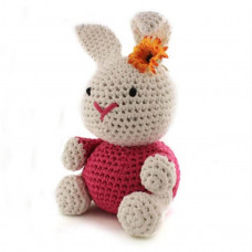Hoooked - Hækle kit - Bunny rabbit - Bubblegum