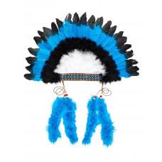 Souza - Indianer hovedbeklædning m. fjer - Macahee