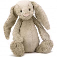 Jellycat - Bashful Kæmpe kanin 51 cm - Beige