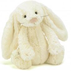 Jellycat - Bashful Kæmpe kanin 51 cm - Creme