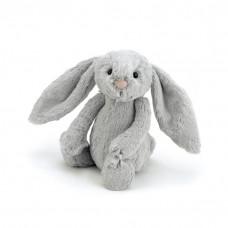 Jellycat - Bashful kanin 18 cm - Silver