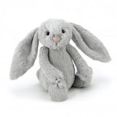 Jellycat - Bashful kanin 31 cm - Silver