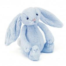 Jellycat - Bashful kanin rangle 18 cm - Lyseblå