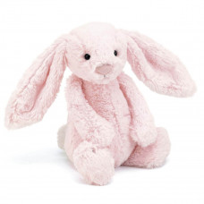 Jellycat - Bashful kanin 36 cm - Lyserød