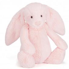 Jellycat - Bashful kanin 51 cm - Lyserød