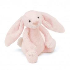 Jellycat - Bashful kanin rangle 18 cm - Lyserød