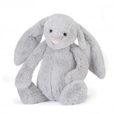 Jellycat - Bashful kanin 51 cm - Silver