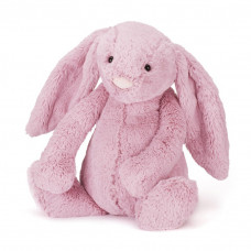 Jellycat - Bashful Kæmpe kanin 51 cm - Tulip