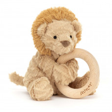 Jellycat - Baby Aktivitets-rangle/bidering - Fuddlewuddel Løve