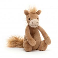 Jellycat - Bashful Bamse - Lille Pony 18 cm