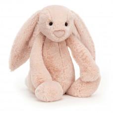 Jellycat - Bashful Kæmpe kanin 51 cm - Blush