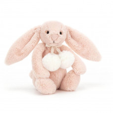 Jellycat - Bashful Snow Kanin 18 cm - Blush