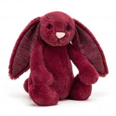 Jellycat - Bashful kanin 31 cm - Sparkly Cassis