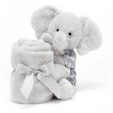 Jellycat - Nusseklud - Bedtime elefant - Silver