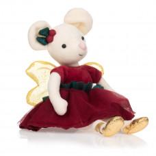 Jellycat - Jule fe bamse - 25 cm - Sugar Plum Fairy Mouse