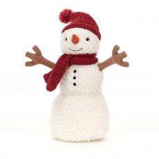 Jellycat - Jule bamse - Teddy Snemand 20 cm