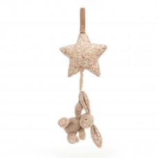 Jellycat - Baby Musikuro - Bashful kanin spilledåse - Blossom Bea