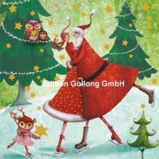 Julekort - Julevals