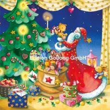 Julekort - Julemand