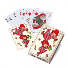 Kalendergave - Spillekort - Sjove nissebørn