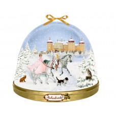 Coppenrath - Gammeldags julekalender med glimmer - Snekugle med jule eventyr
