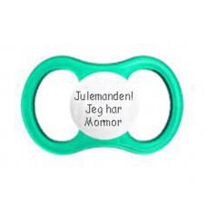 Esska Happy - Anatomisk silikone - Str. 2 (3-36 mdr) - baby sut grøn - Julemanden! jeg har Mormor