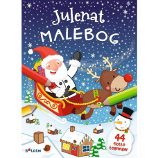 Forlaget Bolden - Kalendergave - Julenat Malebog