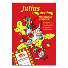 Kalendergave - Julius opgave/malebog med stickers