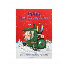 Kalendergave - Julius opgave/malebog