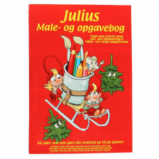 Julius - Kalendergave - Male- og opgavebog - Drillenisser