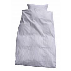 Junior sengetøj - Klassisk strib - Creme