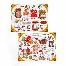 Kalendergave - Påklædningsdukke - Nissefar & Nissemor