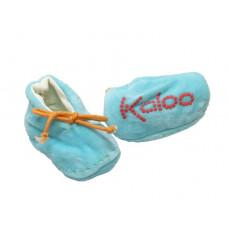 Kaloo - Babyfutter - Lys turkis