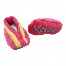 Kaloo - Babyfutter - Pink med striber
