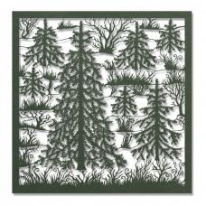 DIY - Laserark - Mørkegrøn Granskov