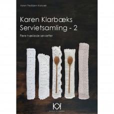 Karen Klarbæk - Hæklebog - Servietsamling 2 - E- bog