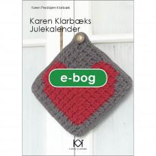 Karen Klarbæk - Hæklebog - Julekalender - E-Bog