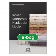 Karen Klarbæk - Hæklebog - Hæklede klude - E- bog