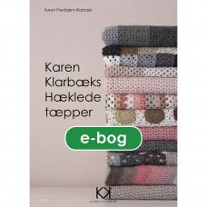 Karen Klarbæk - Hæklebog - Hæklede tæpper - E-bog