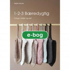 Karen Klarbæk - Strikkebog/Hæklebog - 1-2-3 Bæredygtig - E- bog