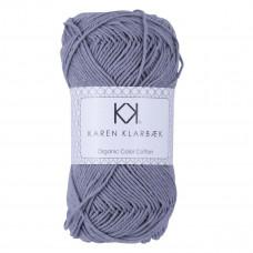 Karen Klarbæk - Økologisk bomuldsgarn 8/4 - Medium grey