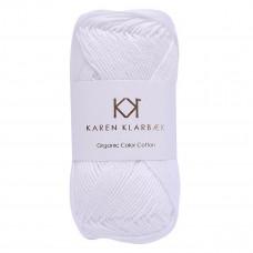 Karen Klarbæk - Økologisk bomuldsgarn 8/4 - Optical White