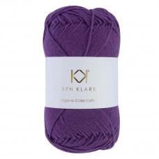 Karen Klarbæk - Økologisk bomuldsgarn 8/4 - Purple passion