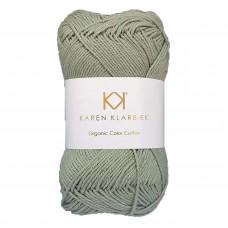 Karen Klarbæk - Økologisk bomuldsgarn 8/4 - Sage Green