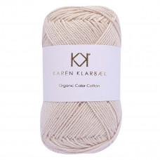 Karen Klarbæk - Økologisk bomuldsgarn 8/4 - Warm nature white
