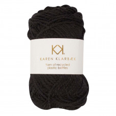 Karen Klarbæk - Recycled Bottle Yarn - Black