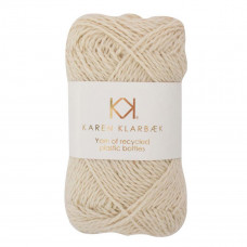 Karen Klarbæk - Recycled Bottle Yarn - Nature White