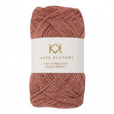 Karen Klarbæk - Recycled Bottle Yarn - Old Rose
