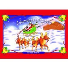 Karrusel forlag - Pop-op bog - Julemandens kanetur